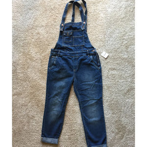 FREE PEOPLE WASHED OVERALL